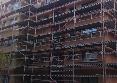 montaz rusztowan budynek wielorodzinny3