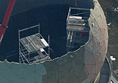 montaz rusztowan kopuly radarowe